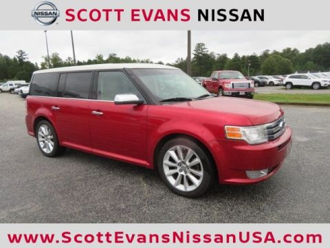 Pre-Owned 2010 Ford Flex Limited w/Ecoboost