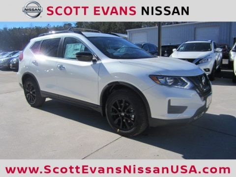 New 2018 Nissan Rogue SV Midnight Edition