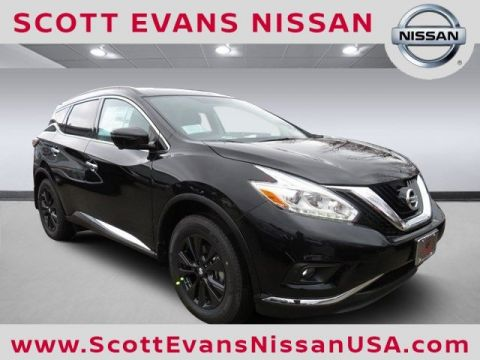 New 2017 Nissan Murano SV FWD Sport Utility