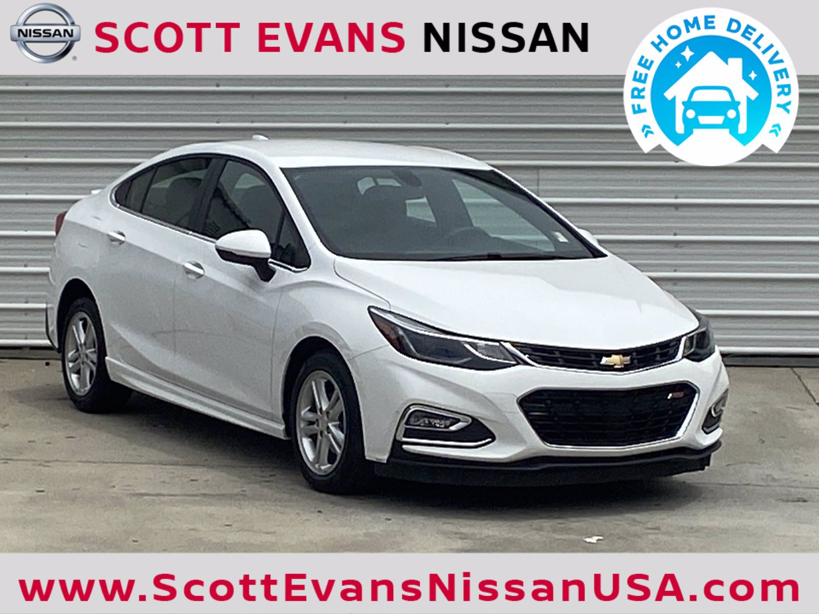 Pre-Owned 2017 Chevrolet Cruze LT RS