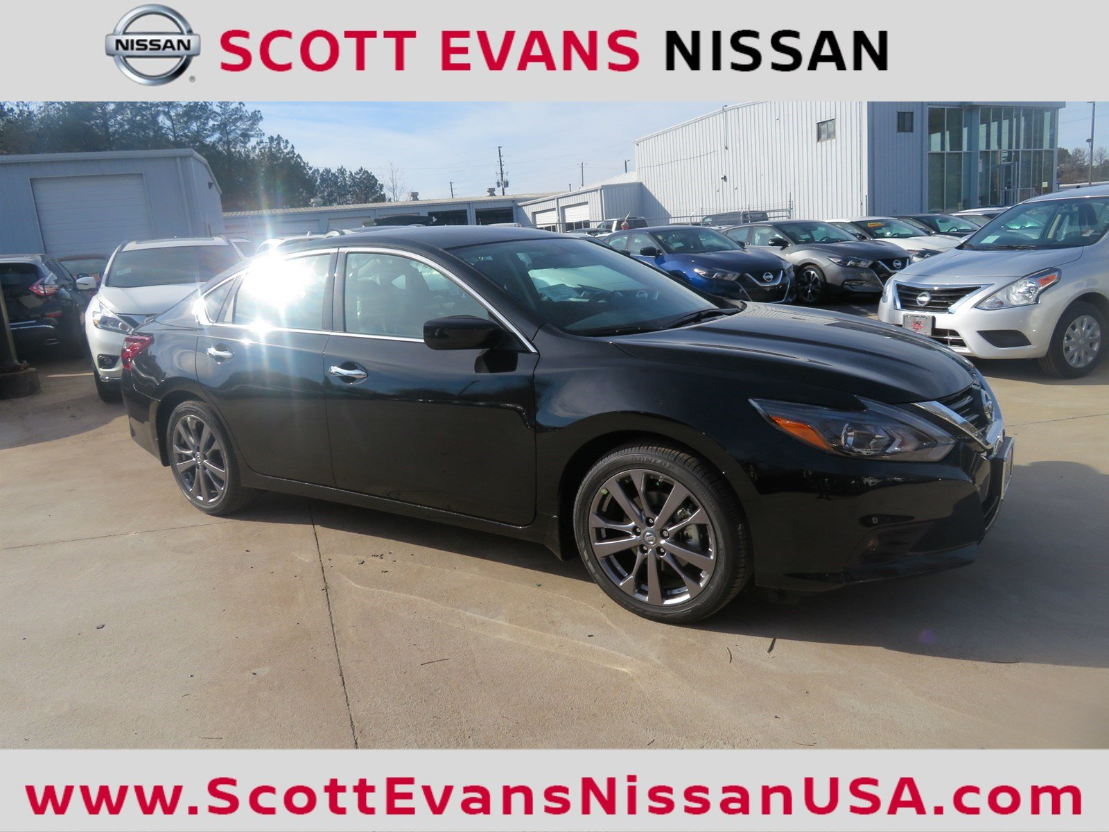 New 2018 Nissan Altima 2 5 SR Special Edition 4dr Car in Carrollton