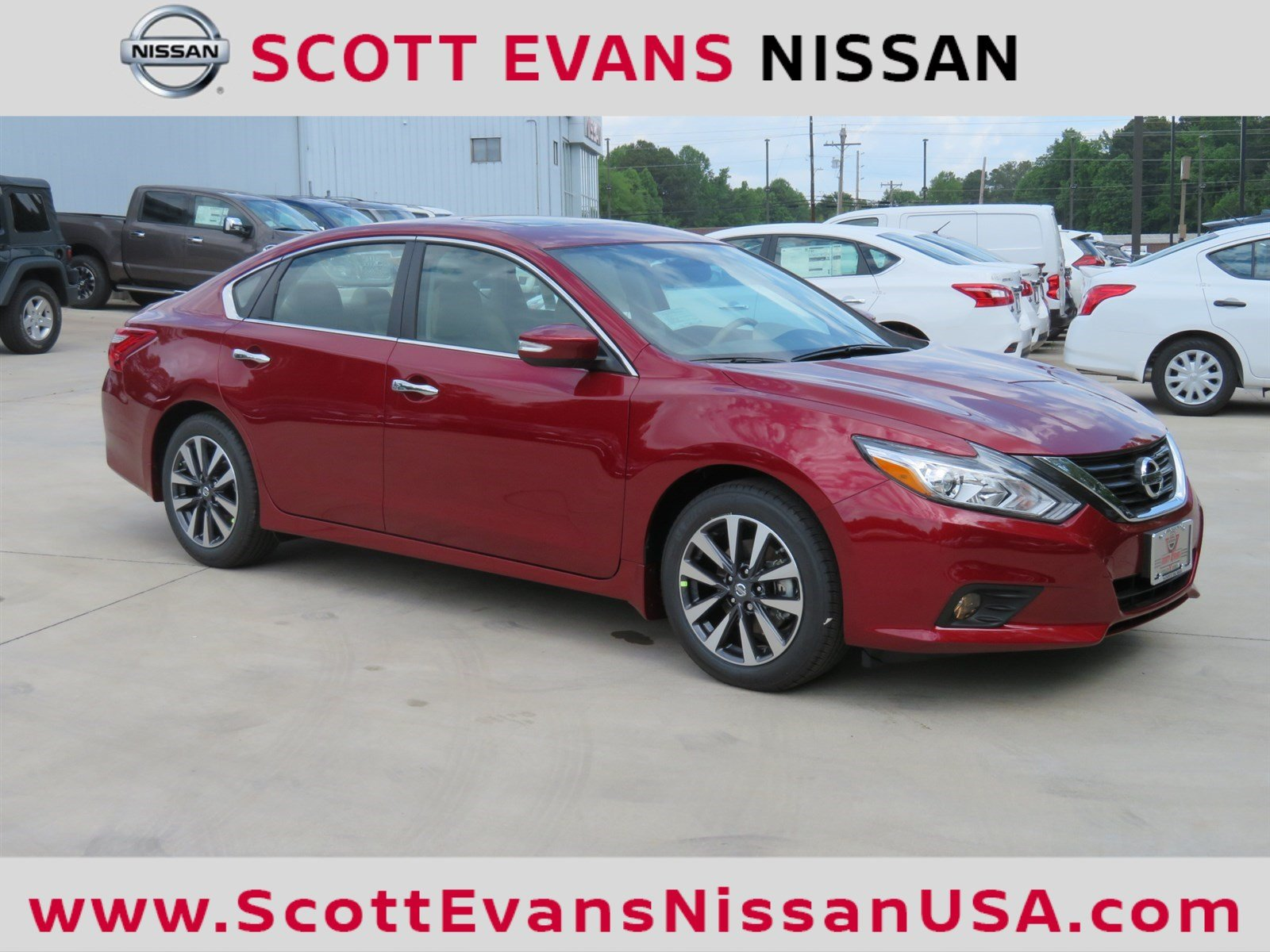 New 2018 Nissan Altima 2 5 SV 4dr Car in Carrollton