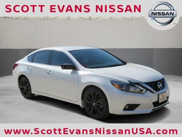 new 2017 nissan altima 2 5 sr midnight edition 4d sedan in carrollton 17381 scott evans nissan. Black Bedroom Furniture Sets. Home Design Ideas