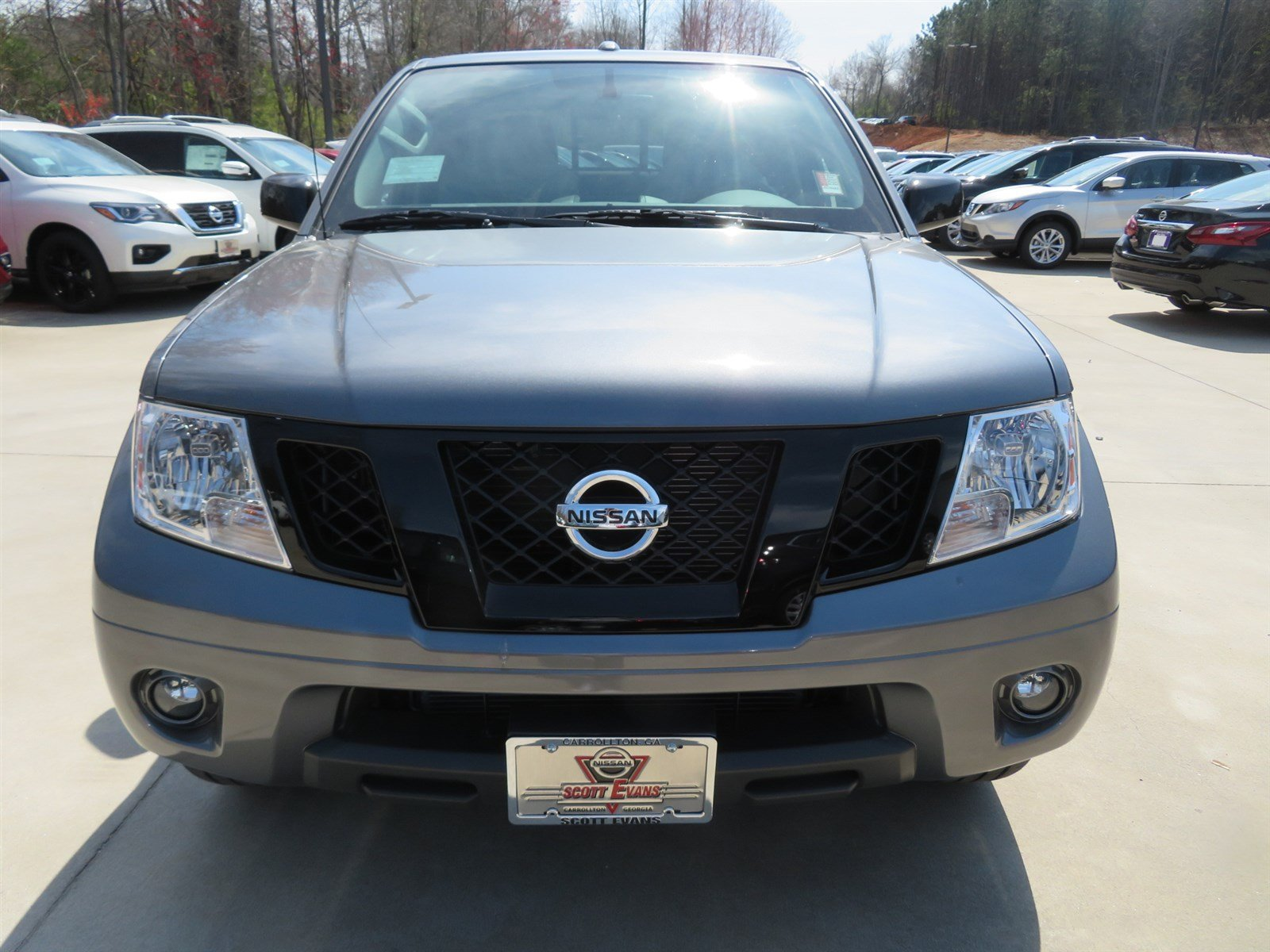 New 2018 Nissan Frontier Sv Midnight Edition Crew Cab Pickup In Front Airbag Sensor 2002 Xterra
