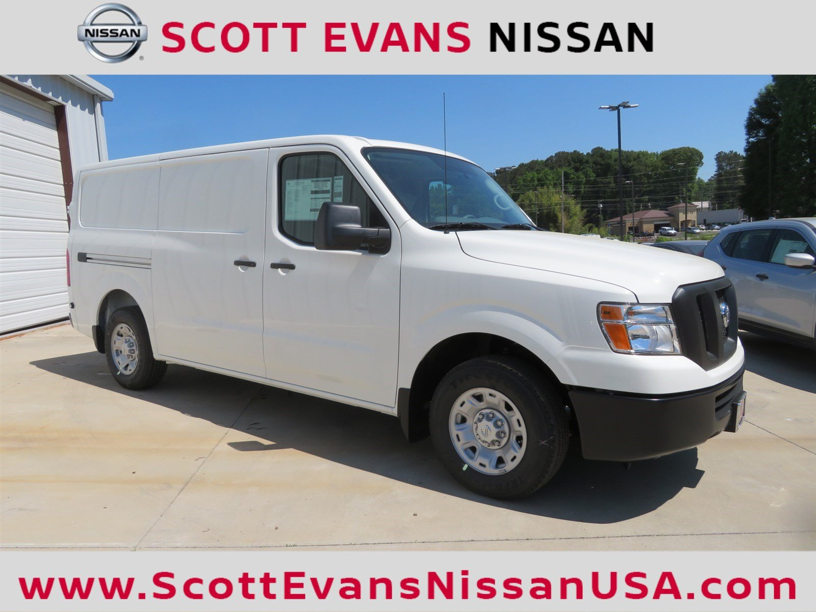 New 2018 Nissan NV2500 SV Full size Cargo Van in Carrollton