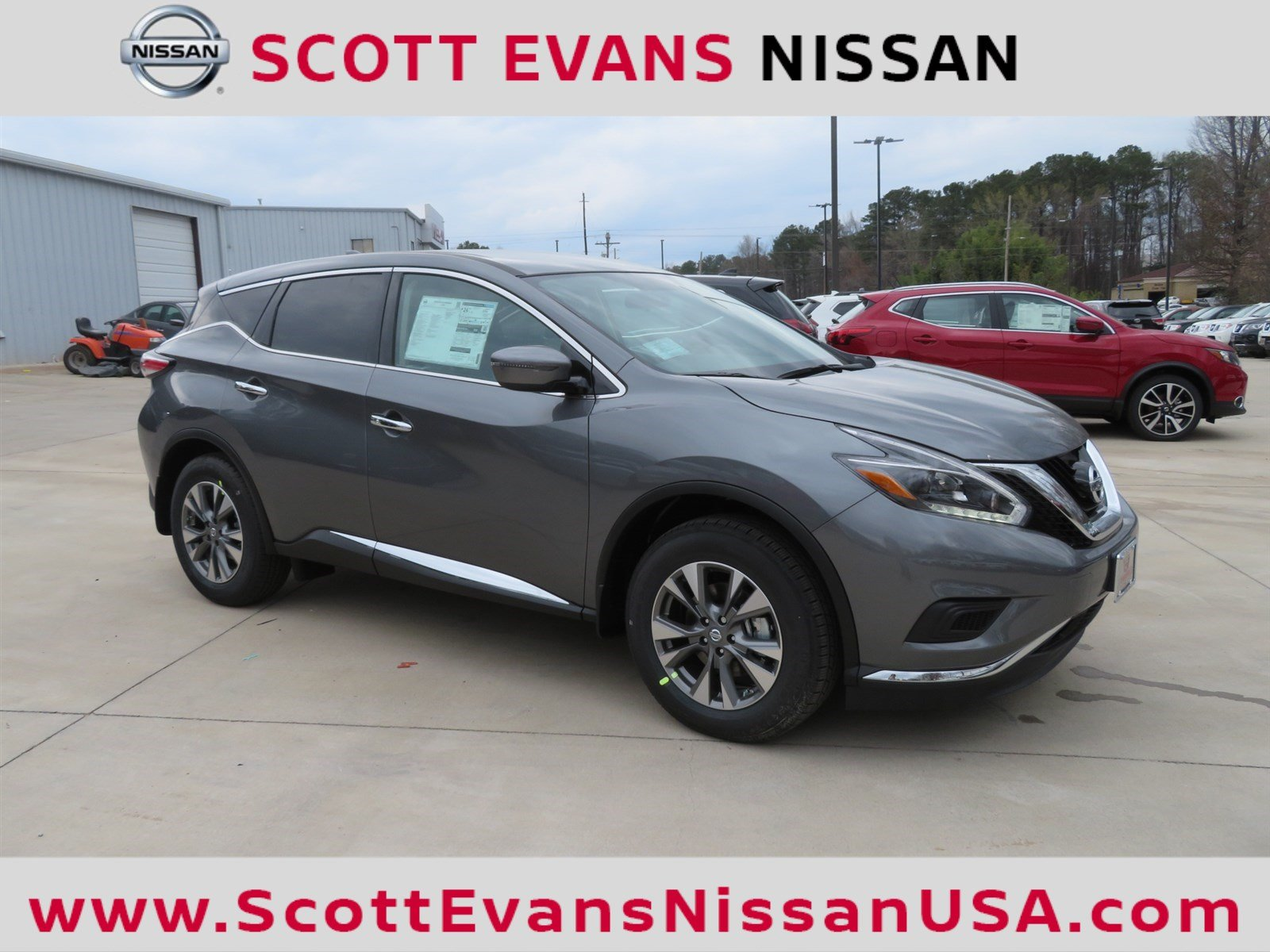 New 2018 Nissan Murano S Sport Utility in Carrollton #18330 | Scott ...
