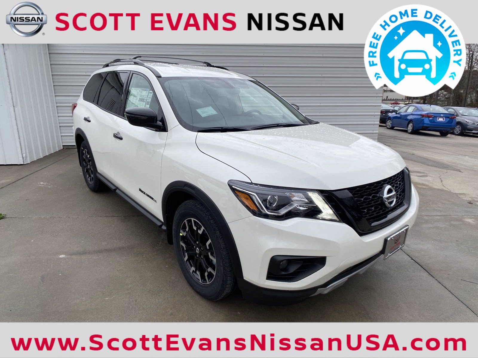 New 2020 Nissan Pathfinder SV Rock Creek
